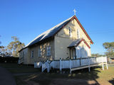Picture relating to Boonah - titled 'Boonah - original Anglician Church'