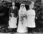 Picture relating to Queensland - titled 'Wright - Howell wedding, 1907'