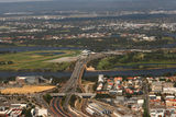 Picture relating to Perth - titled 'Aerial Perth: Graham Farmer Freeway &amp