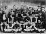 Picture relating to Maryborough - titled 'Wallaroo Football Club from Maryborough, Junior Premiers in 1902'