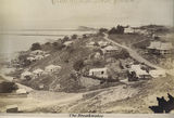 Picture relating to Townsville - titled 'Early scene of Townsville suburb, The Breakwater, ca. 1890'