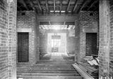 Picture relating to Parliament House - titled 'Old Parliament House interior under construction'