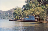 Picture relating to Hawkesbury River - titled 'Wreck of HMAS Parramatta, Hawkesbury River'