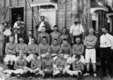 Picture relating to Cloncurry - titled 'Mungo Rugby League Team from Cloncurry, 1912'