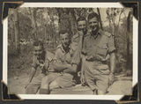 Picture relating to Rollingstone - titled 'Soldiers at Rollingstone, Queensland, 1943'