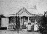 Picture relating to Toowoomba - titled 'Toowoomba residence, The Lodge at the Toowoomba Cemetery, ca. 1886'