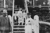 Picture of / about 'Burua' Queensland - Shapland family at Railway House, Burua, Queensland