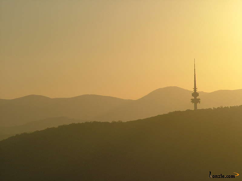 Picture of / about 'Canberra' the Australian Capital Territory - Telstra Tower