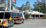 Picture relating to Kynuna - titled 'Truck Stop Kynuna Roadhouse QLD'