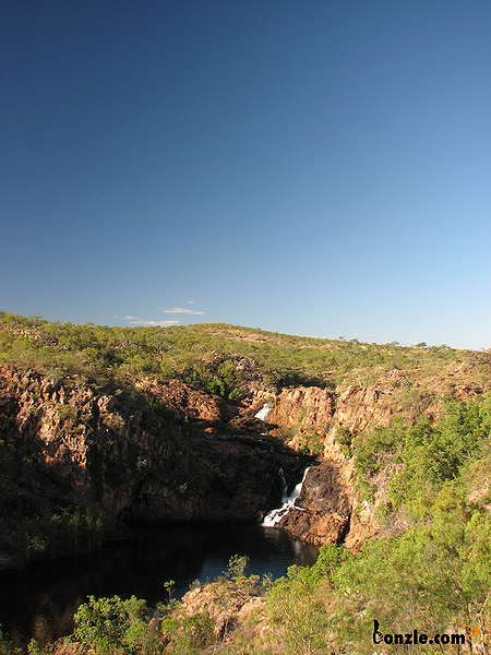 Picture of / about 'Leliyn (Edith Falls)' the Northern Territory - Upper Pool from Bermang Lookout