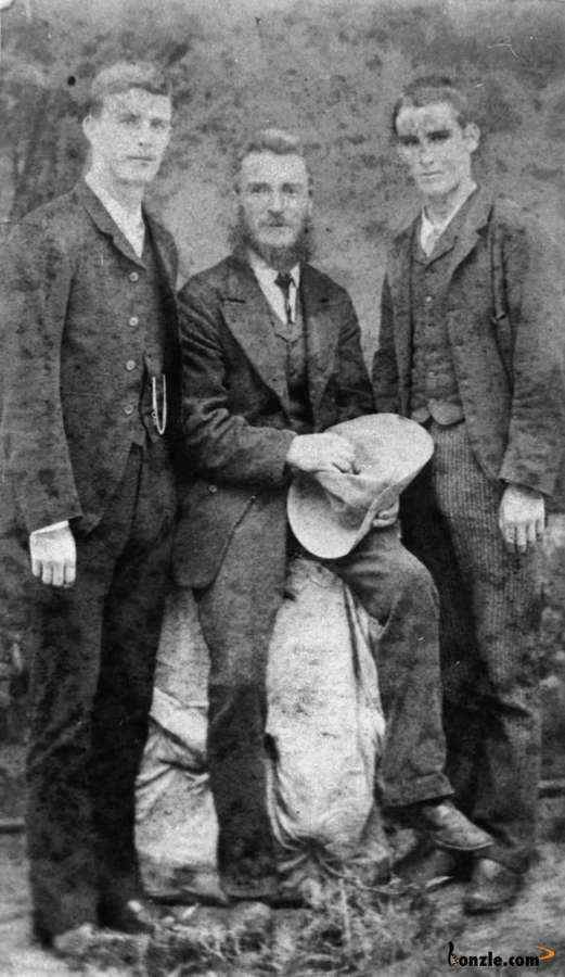 Picture of / about 'Queensland' Queensland - James Belford with sons William and Richard