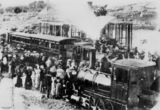 Picture relating to Stanthorpe - titled 'Opening of extensions to the Southern Railway Line at Stanthorpe, Queensland, 3 May 1881'