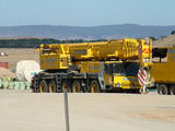 Picture relating to Hammonds Hill - titled 'Massive crane used for wind turbine assembly'
