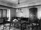 Picture relating to Queensland - titled 'Spanish colonial dining furniture built by Ed. Rosenstengel, 524 Brunswick Street, Fortitude Valley, Brisbane'