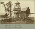 Picture relating to Gympie - titled 'Pithead at a Gympie mine location, July 1908'