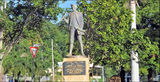 Picture relating to Cooktown - titled 'Captain Cook memorial Cooktown'