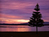 Picture relating to Low Head - titled 'Low Head Tasmania sunset scene'