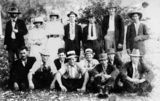 Picture relating to Canungra - titled 'Social outing at Canungra, ca. 1914'