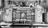 Picture relating to Palmwoods - titled 'Interior of the Palmwoods Memorial Hall, Palmwoods, Queensland, ca. 1925'