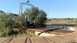 Picture relating to Port Augusta - titled 'Old Locomotive Turntable Port Augusta'