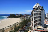 Picture relating to Coolangatta - titled 'Marine Parade and Greenmount Beach, Coolangatta'
