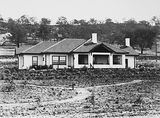 Picture relating to Red Hill - titled 'House at 12 Mugga Way, Red Hill, built by Sir Harry Sheehan, Secretary to the Treasury.'