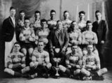 Picture relating to Stanthorpe - titled 'Senior Boomerang Football Club from Stanthorpe - Premiers in 1926'