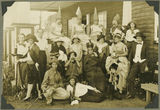 Picture relating to Yeppoon - titled 'School play, The Happy Man, performed at St Faiths, Yeppoon, 1927'
