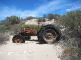 Picture relating to Streaky Bay - titled 'Tractor Beach'