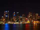 Picture relating to Sydney Harbour - titled 'Sydney Harbour By Night 2'