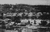 Picture relating to Brisbane - titled 'Early view of Brisbane, ca. 1866'