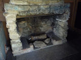 Picture relating to Pryors Hut - titled 'Pryors Hut - one of the fireplaces'
