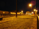 Picture relating to Werris Creek - titled 'Railway yards by night 1.'