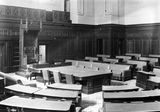 Picture relating to Parliament House - titled 'Old Parliament House. House of Representatives Chamber.'