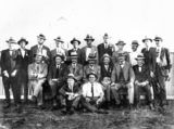 Picture relating to Charleville - titled 'Members of the Charleville Returned Soldiers' Race Club, ca. 1923'