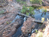 Picture relating to Edith Falls - titled 'Upper Pool Walking Track'
