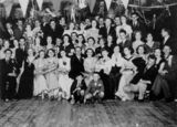 Picture relating to Woolloongabba - titled 'Crowd at a dance in Wooloongabba, Brisbane. ca. 1933'