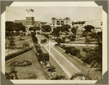Picture relating to Bundaberg - titled 'View across the gardens, Bundaberg, ca. 1930'