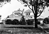 Picture relating to Yarralumla - titled 'Government House, residence of the Govenor General, Yarralumla, , northern view.'