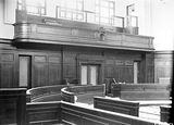 Picture relating to Parliament House - titled 'Old Parliament House Senate Chamber, under construction.'