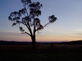 Picture relating to Glenlyon - titled 'Sunset at Glenlyon'
