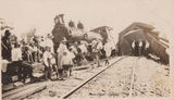 Picture relating to Gympie - titled 'Gympie, Train Crash - early 20th Century'
