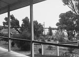 Picture relating to Canberra - titled 'View from the Canberra Community Hospital verandah'