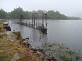 Picture relating to Waddamana - titled 'Penstock Lagoon Waddamana'