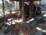 Norseman gold mine steam winch (view 3 of 3)