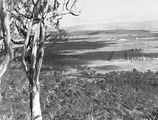 Picture relating to Parliament House - titled 'View from Mt Ainslie along Anzac Parade to Old Parliament House'