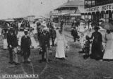 Picture relating to Tweed Heads - titled 'Wharf Street, Tweed Heads, N.S.W., ca. 1906'