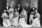 Picture relating to Queensland - titled 'Unidentified wedding, ca.1930'