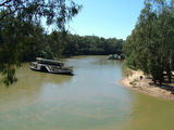 Picture relating to Echuca - titled 'Murray River at Echuca'
