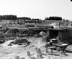 Picture relating to Canberra - titled 'Canberra brick works - Construction of brick kilns'